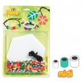 Bracelet charms Jewels Kit with Hama MIDI 5 mm beads for Children
