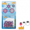 Roses Kit with Hama MINI 2.5 mm beads for children