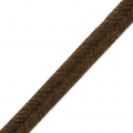 Shiri Velvet Braid Made in Italy 4 mm Brown x1m