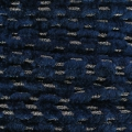 Shay Metal Velvet Braid Made in Italy 4 mm Dk N. Blue/Rhodium x1m
