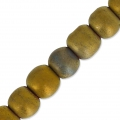 Hematite 4 mm Golden Matt x20