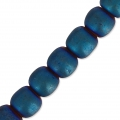 Hematite 4 mm Blue Matt x20