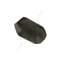 Irregular nugget bead drilled 12-25 mm Smoky Quartz x1