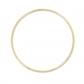 Nude  brass circle for Dreamcatcher,  Suspension and Lamps  18 cm