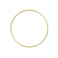 Nude  brass circle for Dreamcatcher,  Suspension and Lamps  15 cm