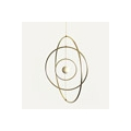 Nude  brass circle for Dreamcatcher,  Suspension and Lamps  11 cm