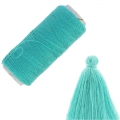 Cotton Imitation bobbin to realize Tassels Kaki x120m
