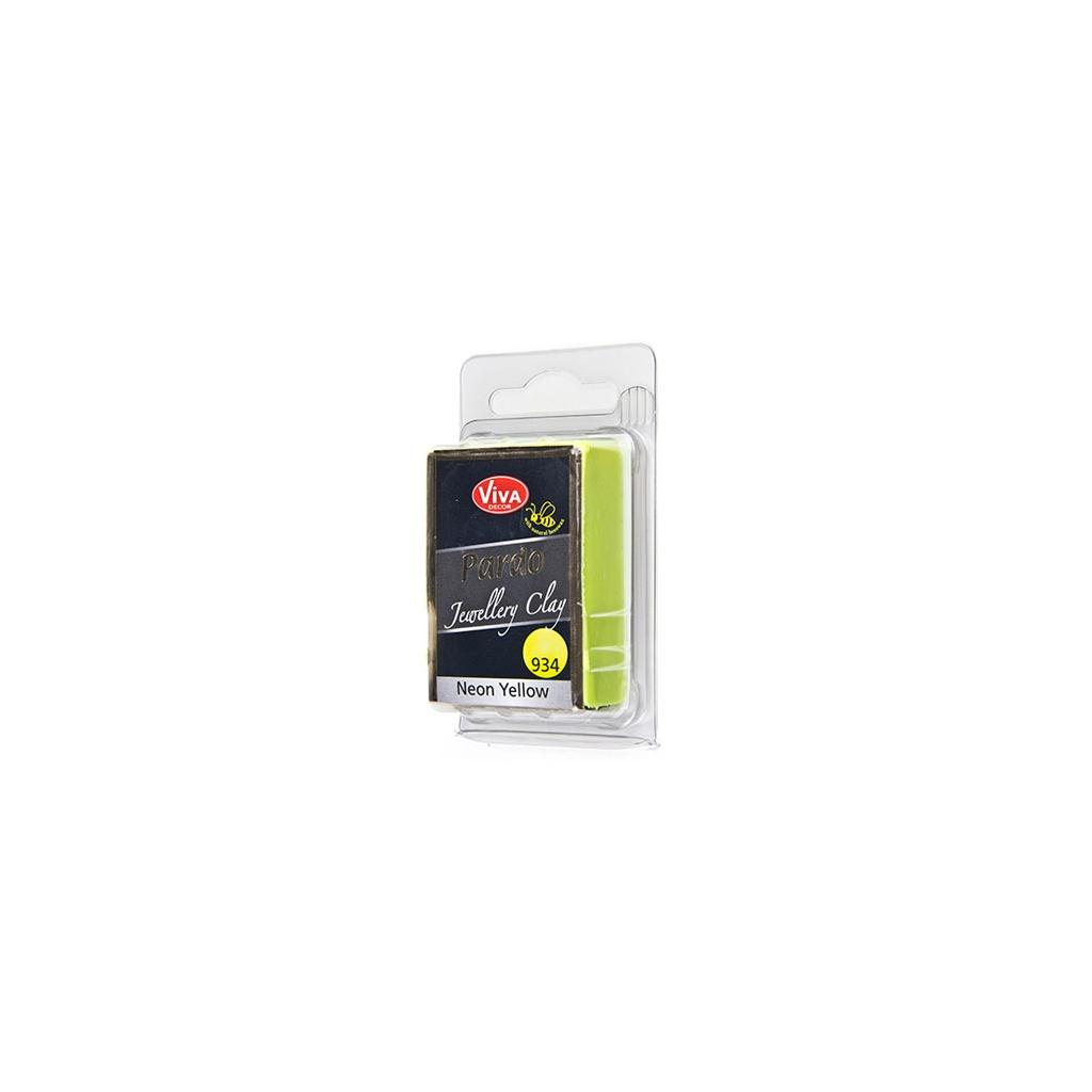 Pardo Viva Decor Jewellery Clay 56g Neon N 934 Yellow