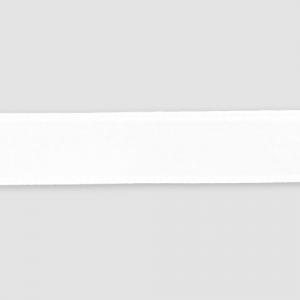 Satin ribbon  6mm white x1m