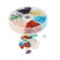 Assortment of  chips Stones  4-7 mm Multicolor