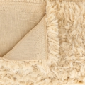 Fur Imitation Minky Fabric - Llama Cuddle Solid Sand x10cm