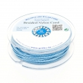 Griffin European Braided Nylon Thread 0.3 mm Blue x25m