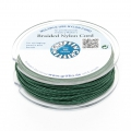 Griffin European Braided Nylon Thread 0.3 mm Dark Green x25m