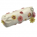 School pencilcase to decorate 22x6 cm Natural x1