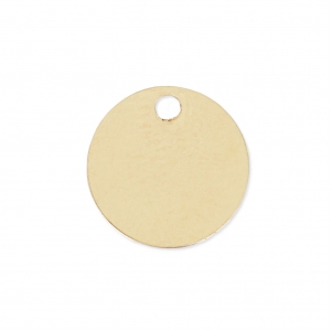 Round Medal 7 mm - 14Kt Gold-filled x1
