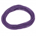 Cotton waxed cord 1,5mm Violet x5m