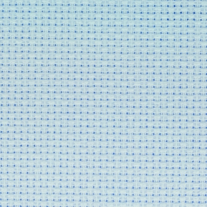 AÏDA FABRICS FOR CROSS STITCH DMC 5.5 pts/cm (n°800) 35x45 cm light blue x1