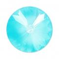 Swarovski 1122 Rivoli Round Stone 18mm Crystal AB Ultra Turquoise