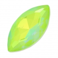 Swarovski Navette 4227 32x17mm Crystal AB Ultra Lime