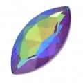 Swarovski Navette 4227 32x17mm Crystal AB Ultra Purple