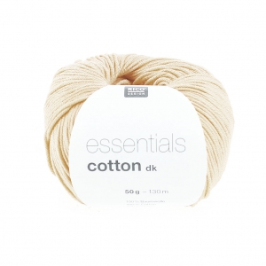 Essentials Cotton Dk Wool Nature x50g