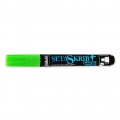 SetaSckrib marker  Pebeo Opaque for light and dark fabric light greenx1