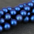 Swarovski 5810 Pearls 6mm Iridescent Dark Blue Pearl  x10