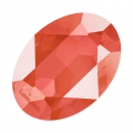 Swarovski 4120 Oval Fancy Stone 14x10mm Crystal Light Coral x1