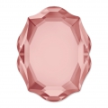 Fancy Stone Swarovski 4142 Baroque Mirror 14x11 mm Blush Rose