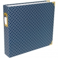 Album Project Life de Becky Higgins 30.5x30.5 cm Braided navy blue