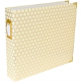 Album Project Life de Becky Higgins 30.5x30.5 cm Alveole Cream gold