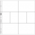 Set with 12 picture pockets 30.5x30.5 cm for the Album Project Life Design A