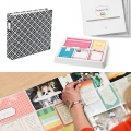 Set with 12 picture pockets 30.5x30.5 cm for the Album Project Life Assortiment 3