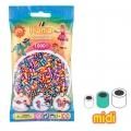 Assortment of Hama Multi beads Striped (n°92)  x1000