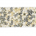 Crystal Fine Rocks Swarovski 709002 15 mm Crystal Golden Shadow x16cm