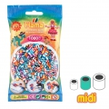 Assortment of Hama Multi beads striped (n°90)  x1000