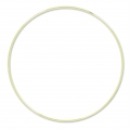 Nude  brass circle for Dreamcatcher,  Suspension and Lamps 30 cm