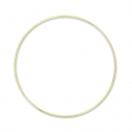 Nude  brass circle for Dreamcatcher,  Suspension and Lamps 25 cm