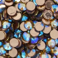 Swarovski Hotfix rhinestones 2078 4mm Light Colorado Topaz Shimmer x36