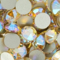 Swarovski stick-on rhinestones 6mm Silk Shimmer x10