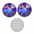 Swarovski stick-on rhinestones 6mm Siam Shimmer x10