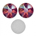 Swarovski stick-on rhinestones 6mm Light Siam Shimmer x10