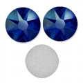 Swarovski stick-on rhinestones 6mm Cobalt Shimmer x10