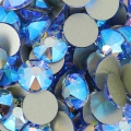 Swarovski stick-on rhinestones 2088 3mm Light Sapphire Shimmer x36