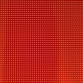 Vinyl Fabric for embroidery laquered and drilled - Red x10cm