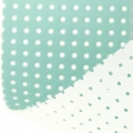 Vinyl Fabric for embroidery laquered and drilled - light blue x10cm