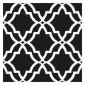 Decorative stencil medium size 30x30 cm stained glass big modell