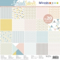 Paper Pad scrapbooking 30.5x30.5 cm ScandiSweet x40 sheets