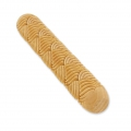 Wooden texture  rolls for polymer clay 100x15mm braid