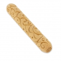Wooden texture  rolls for polymer clay 100x15mm motif deco